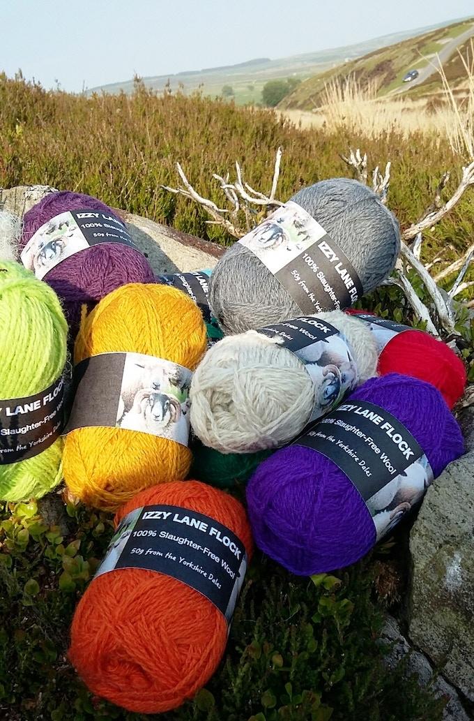 Izzy Lane Mixed Breed Wool