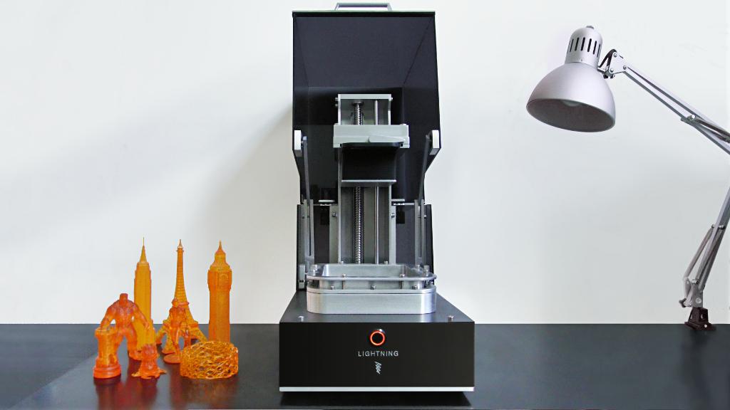Lightning - Double Exposure, UV DLP 3D Printer project video thumbnail