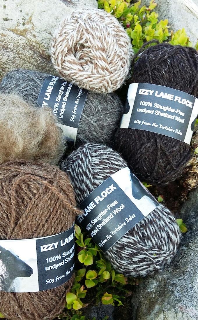 Izzy Lane Shetland in Natural Colours