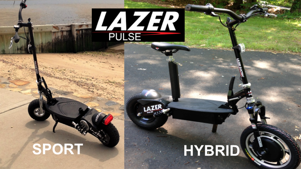 LAZER PULSE Electric Scooters - Starting at $399! project video thumbnail