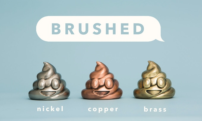 Brushed Edition (100 sculptures in each finish)