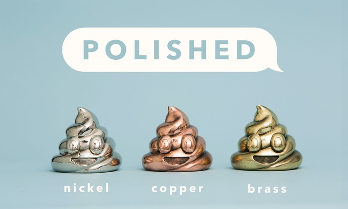 Polished Edition (100 sculptures in each finish)