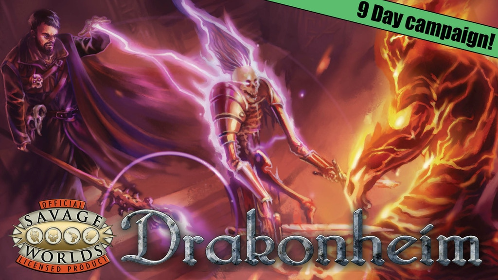 Savage Drakonheim - City of Bones for the Savage Worlds RPG project video thumbnail