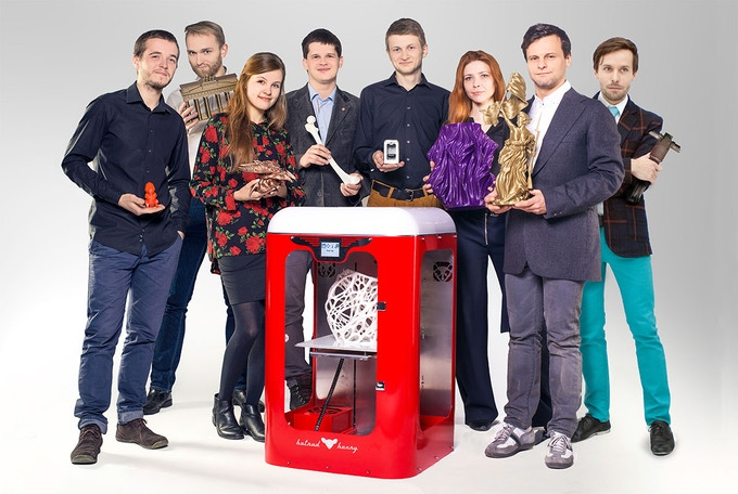 The Team - brought together by passion for 3D printing