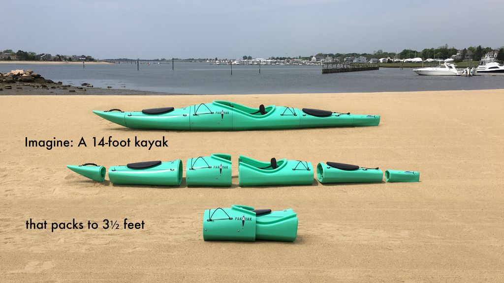 Pakayak - The Ultimate Packable Kayak project video thumbnail