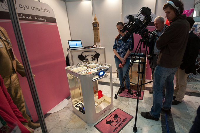 The prototype of HotRod Henry Supercharged 3D printer getting media attention