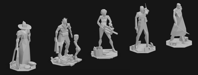 Update #9 features details on each miniature!