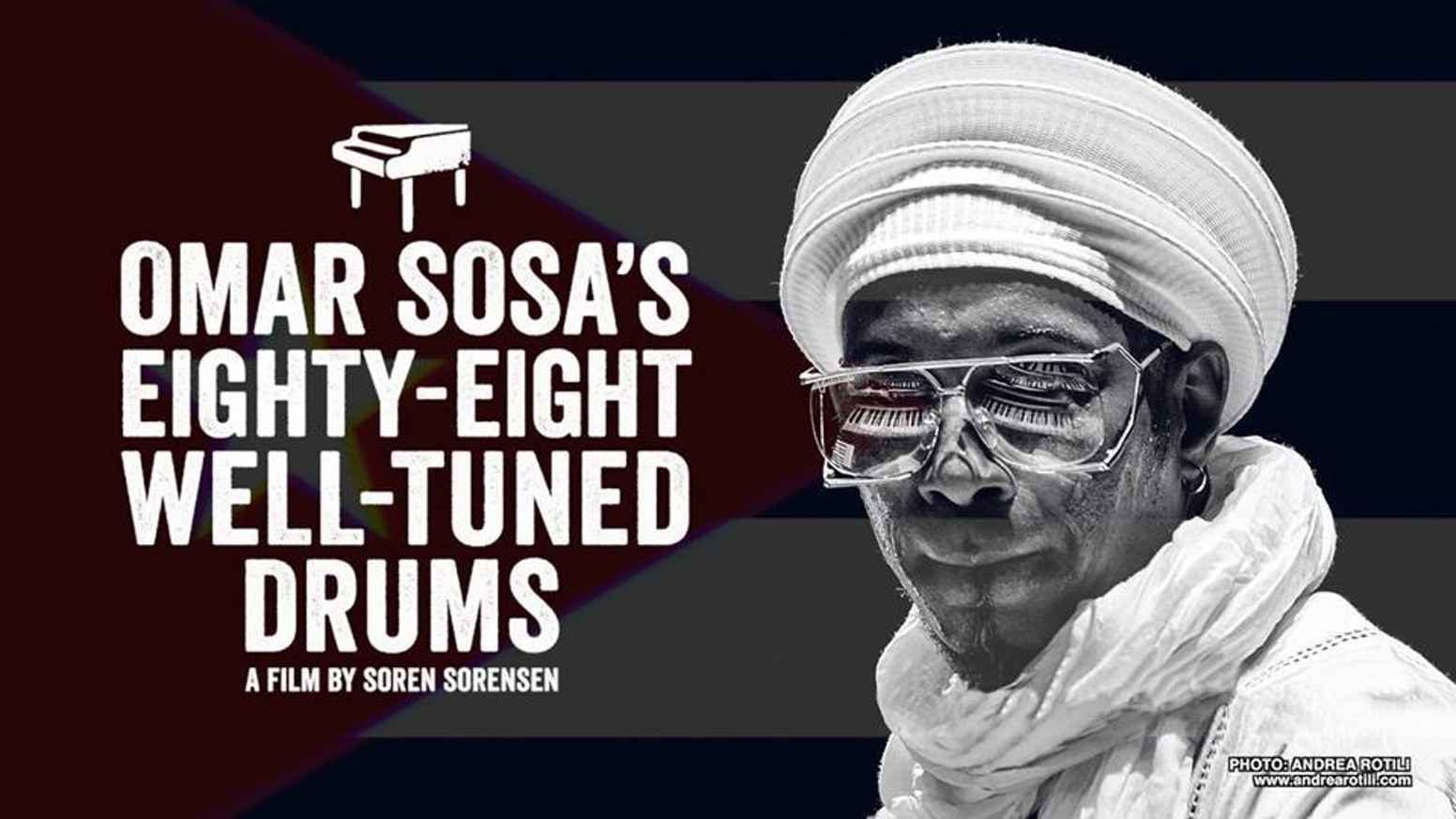 Thanks to our backers, we can now finish this film on the life and music of pianist and composer, OMAR SOSA!