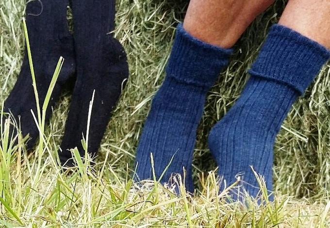 Shetland Walking Socks