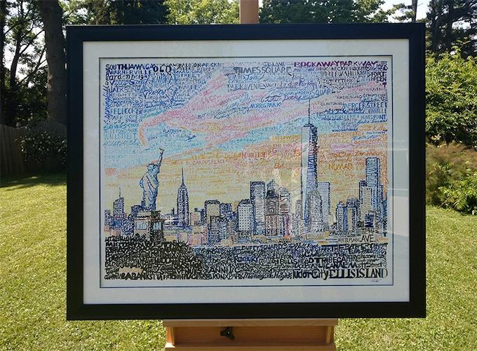 New York Original Artwork