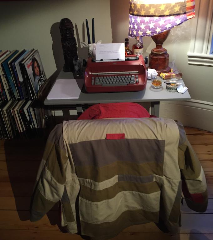 Jacket at Desk
