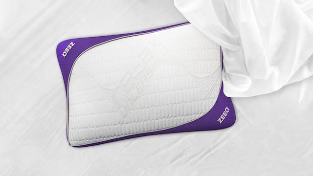 ZEEQ Smart Pillow: Stream Music, Stop Snoring, Sleep Smarter project video thumbnail