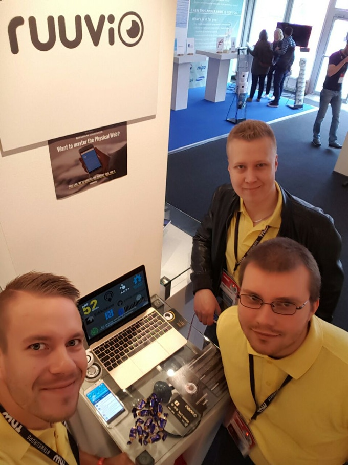Ruuvi stand at TNW conference