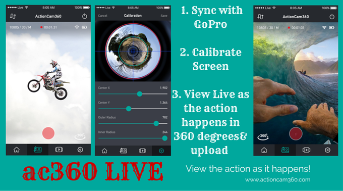 360 LIVE - The APP