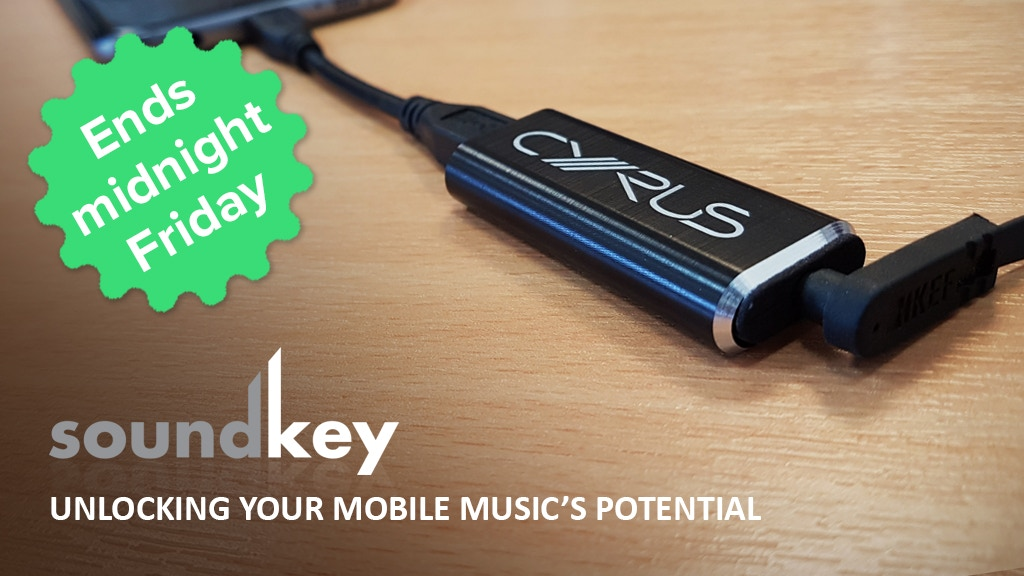 Cyrus soundKey DAC : Bringing your music on the move to life project video thumbnail
