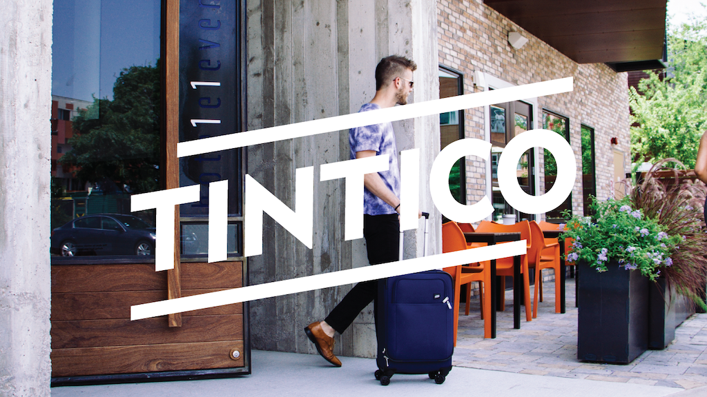 The Tintico Carry-On: Simply Great Luggage. project video thumbnail