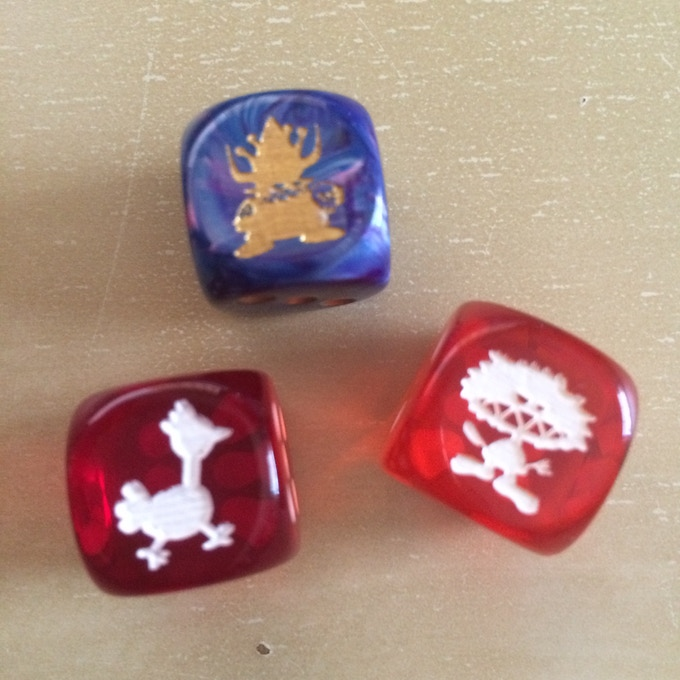 KAMB Dice - King Torg, Kobold and Chicken