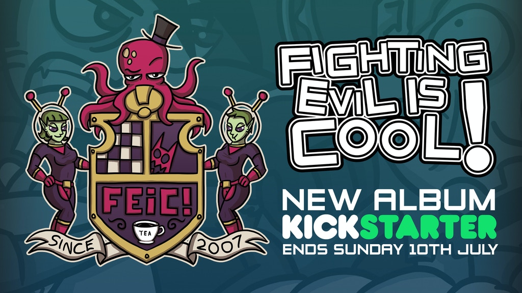 Fighting Evil is Cool!'s New Album project video thumbnail