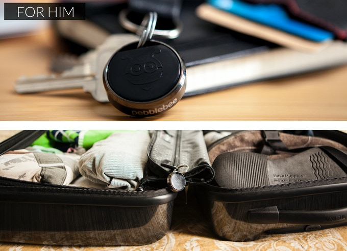 Perfect for his keys, suitcase, or anything in-between.