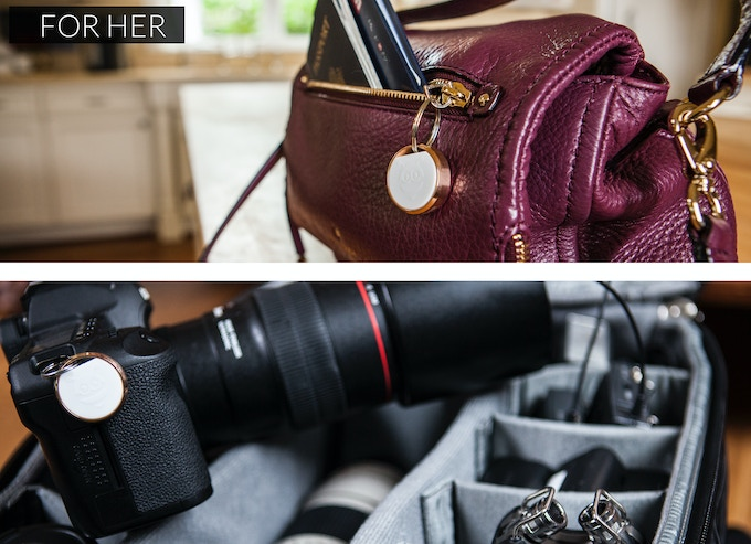 Perfect for her purse, camera, or any other valuables.