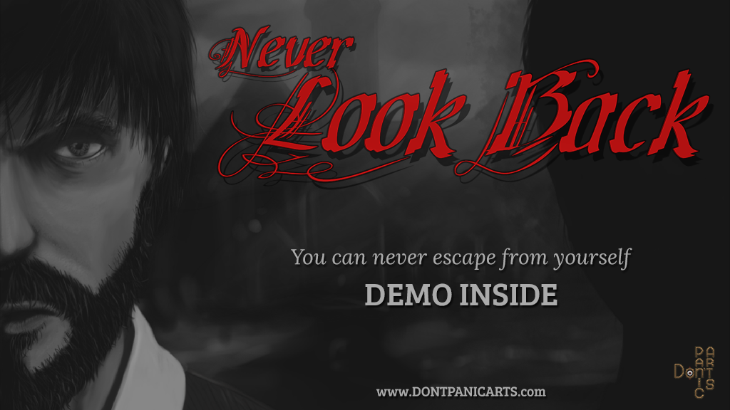 Project image for Never Look Back, horror adventure game
