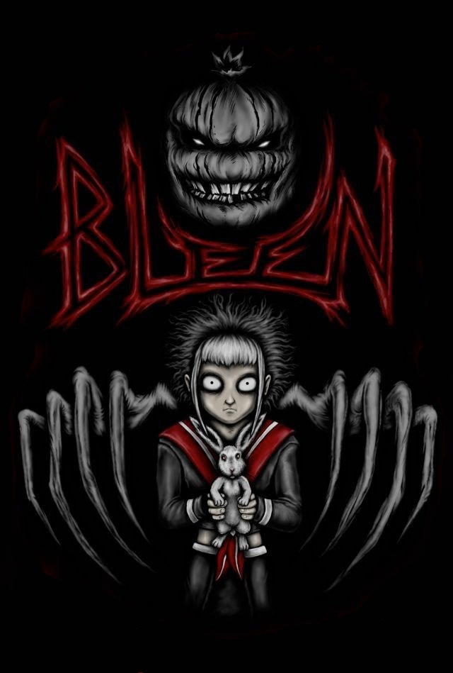 This is the Original Cover Design to Bleen