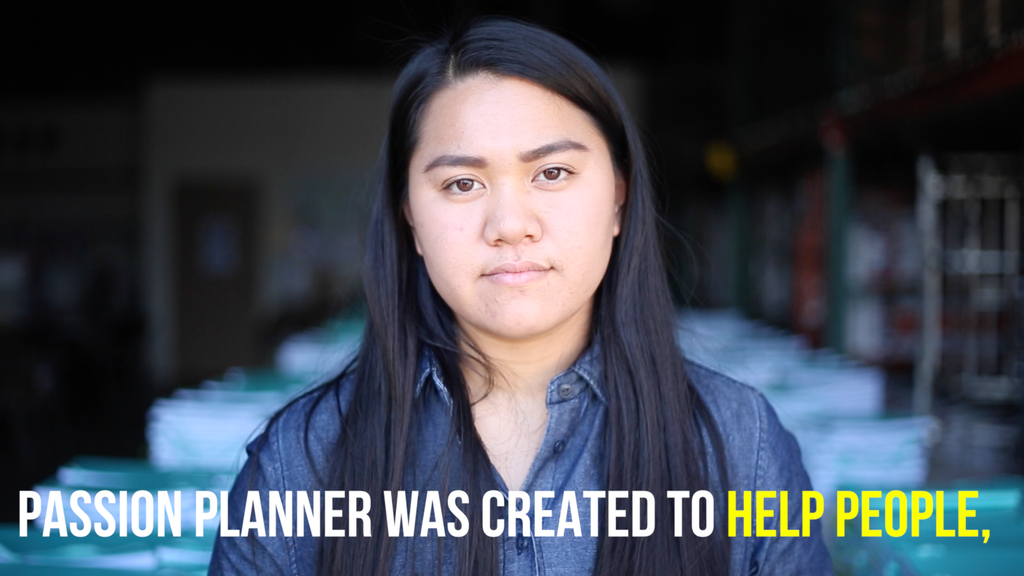 Passion Planner: Be the Change. Get One, Give Three project video thumbnail