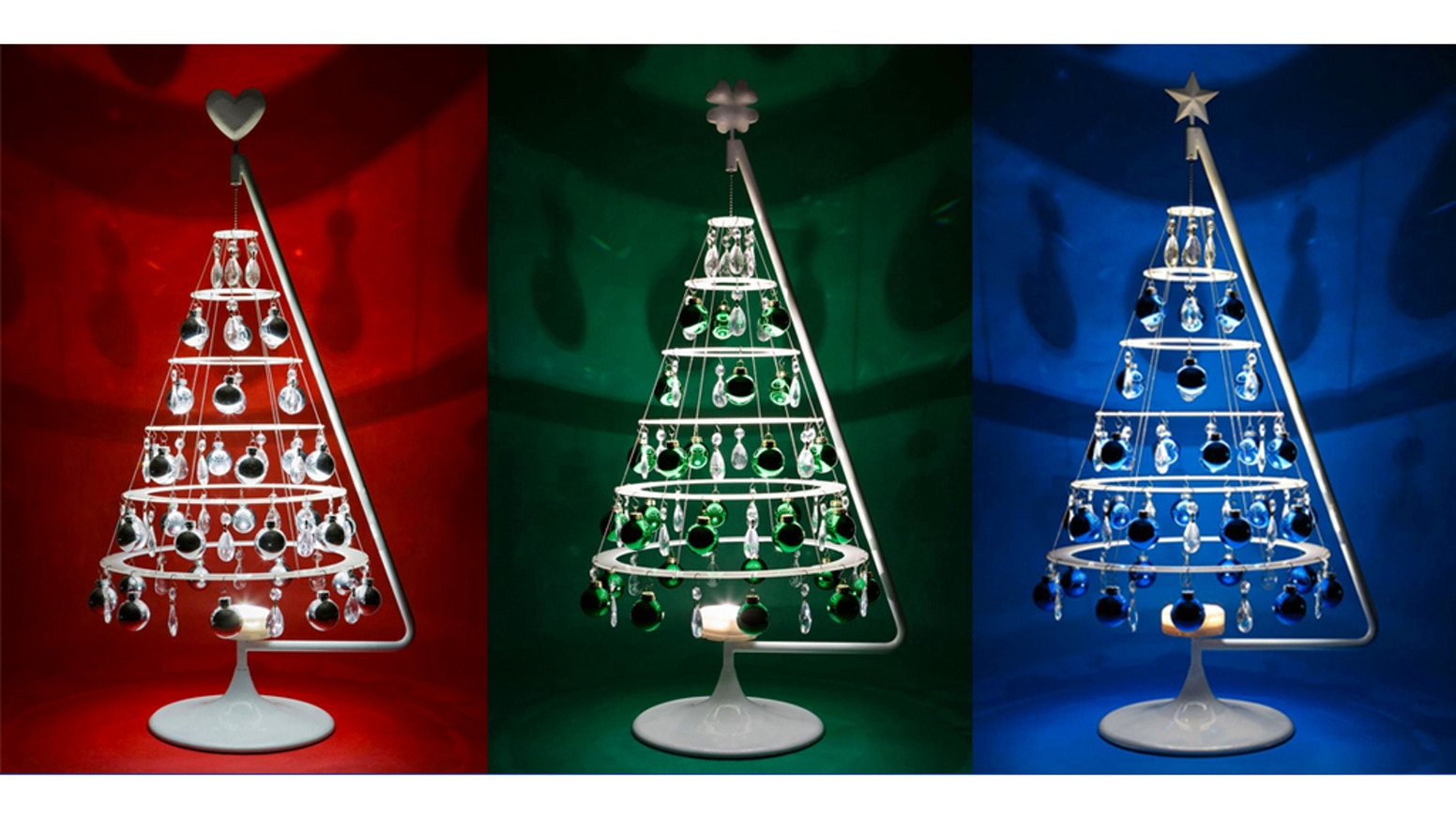 The Jubilee from Modern Christmas Trees transforms every space into a visual celebration. With its light and shadow play, this little tree fills any size room.