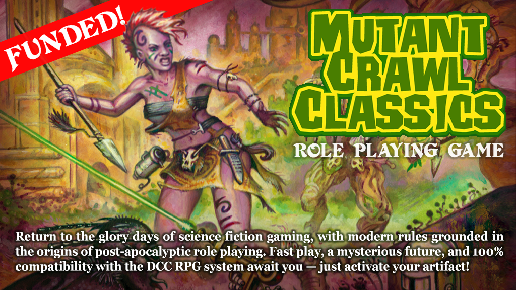 Mutant Crawl Classics RPG (MCC RPG) project video thumbnail