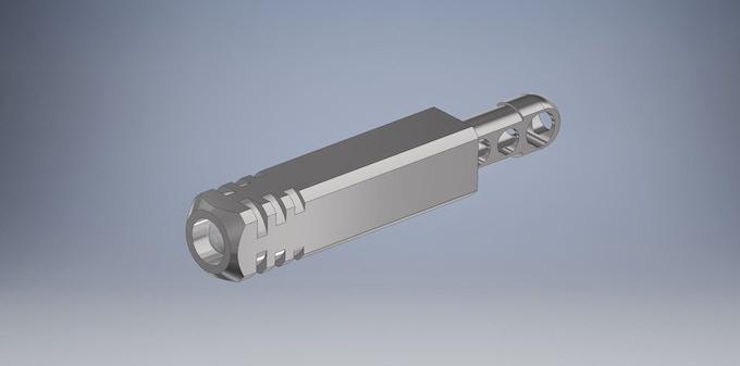 3D CAD Design - Pixel Ti