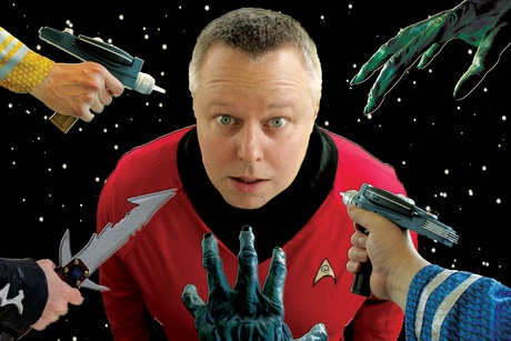 The last red shirt at the minnesota fringe festival by for Farcical parody