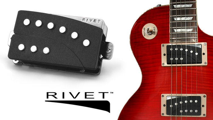 RIVET™ Pickups let you organically expand your guitar tone by turning independent mini-coils on whenever you want to.
