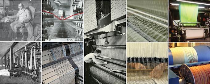 Jacquard weaving through time