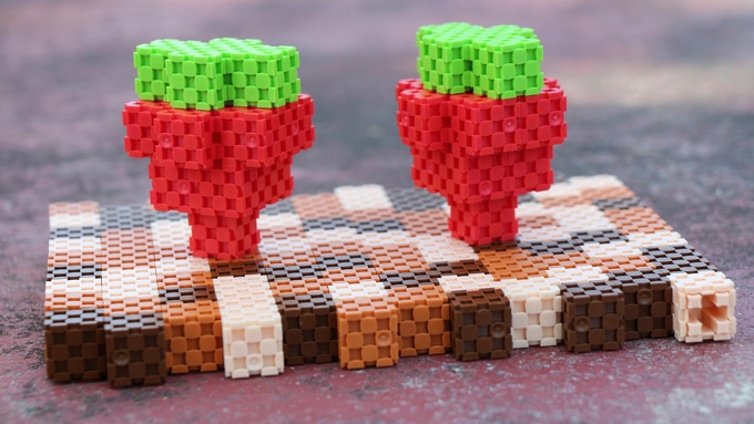 Lini cube - strawberries