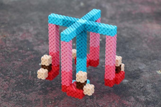 Lini cube - merry go round