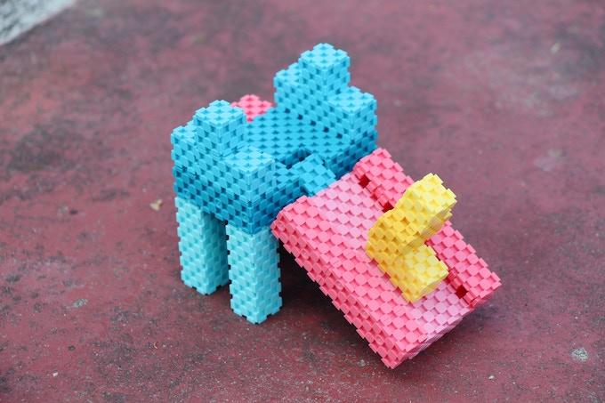 Lini cube - slide