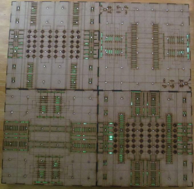 2x2 Gaming Board