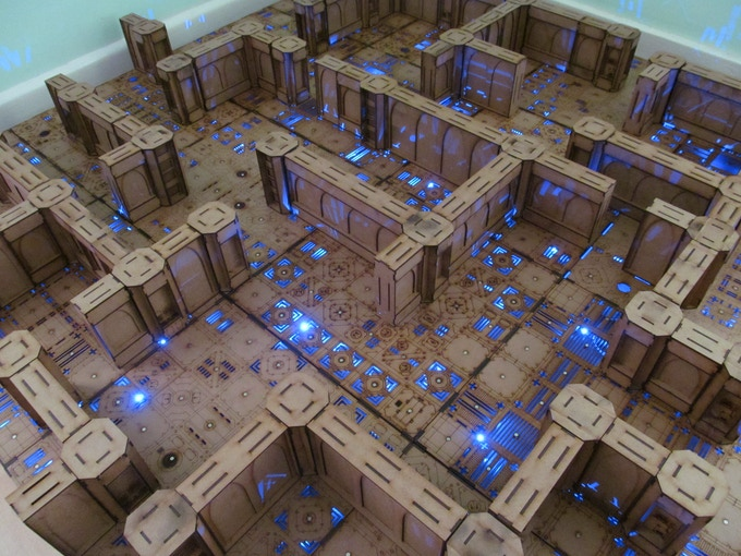 4x4 Dungeon Board