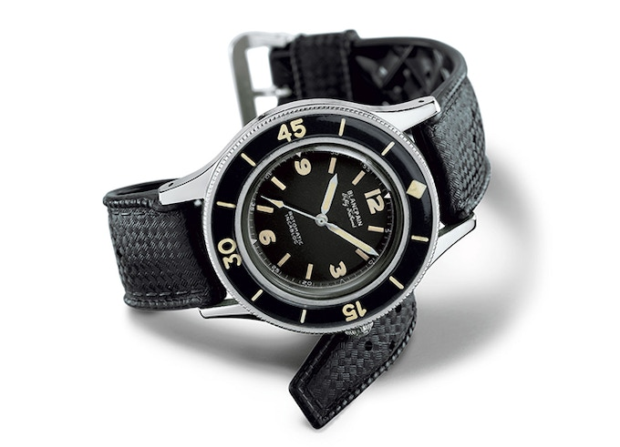 Photo Credit - WatchTime.net - http://www.watchtime.net/nachrichten/blancpain-fifty-fathoms/
