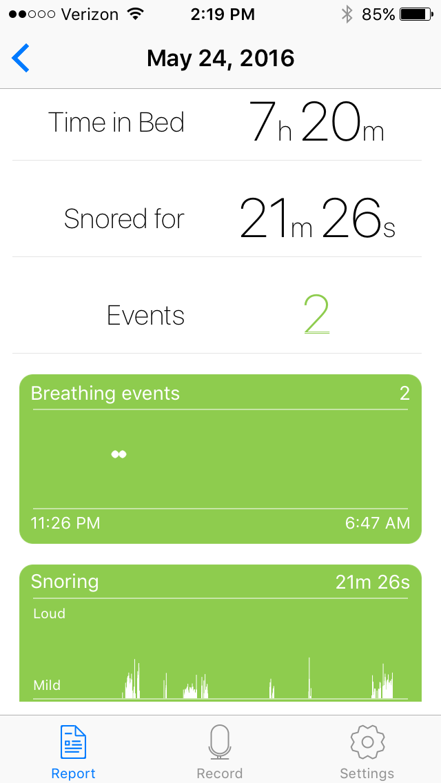 SnoreCoach, Intelligent Way To Stop Snoring and Sleep Better by John