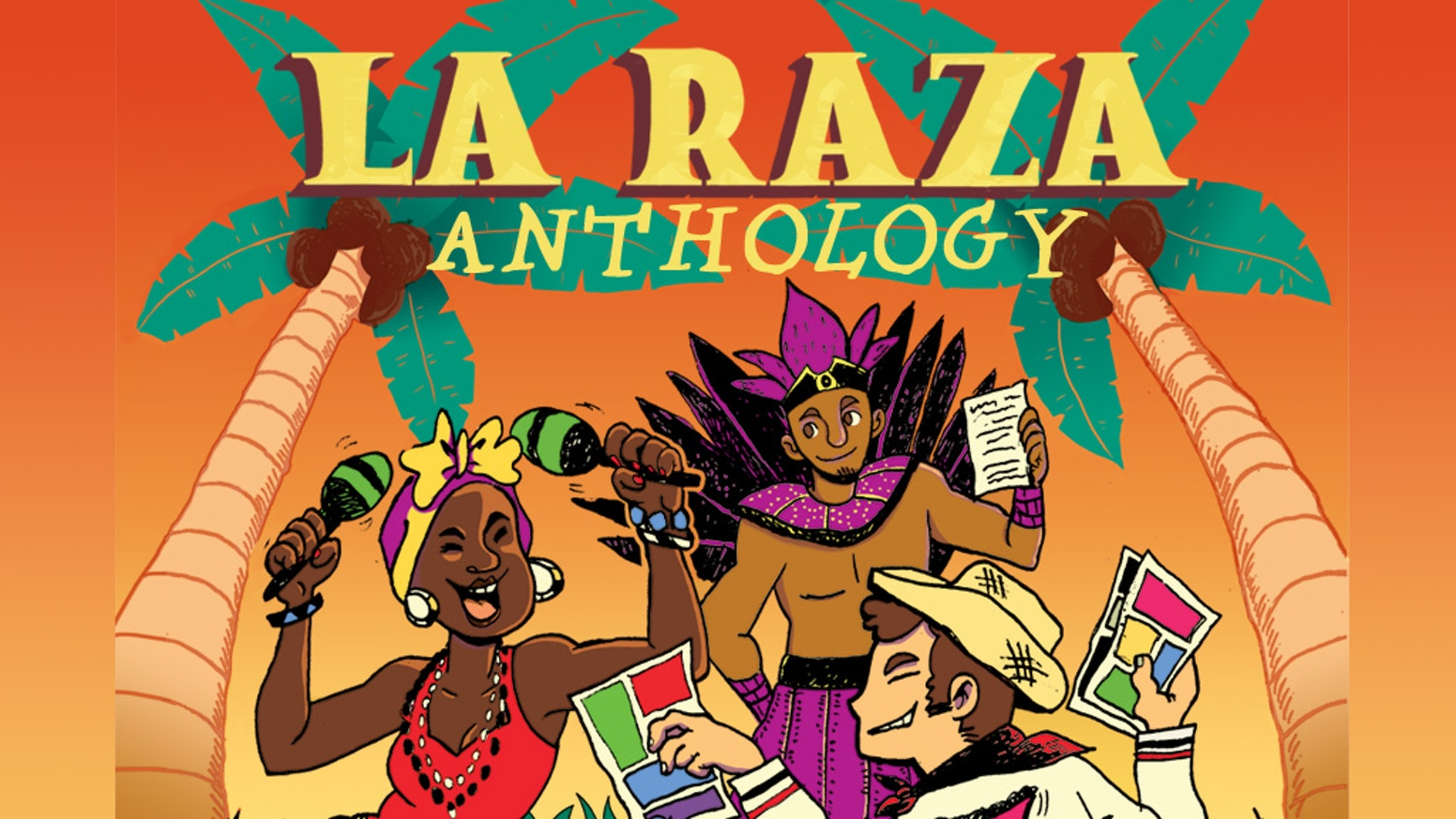 An unique anthology filled with comics, illustrations, poems and short stories celebrating & analyzing Latin American heritage.