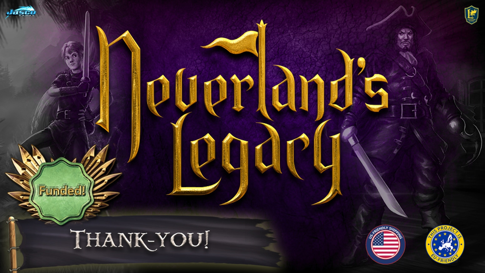Neverland's Legacy is a 1-4 player cooperative skirmish game that pits Peter Pan and friends against Hook and his Pirates!