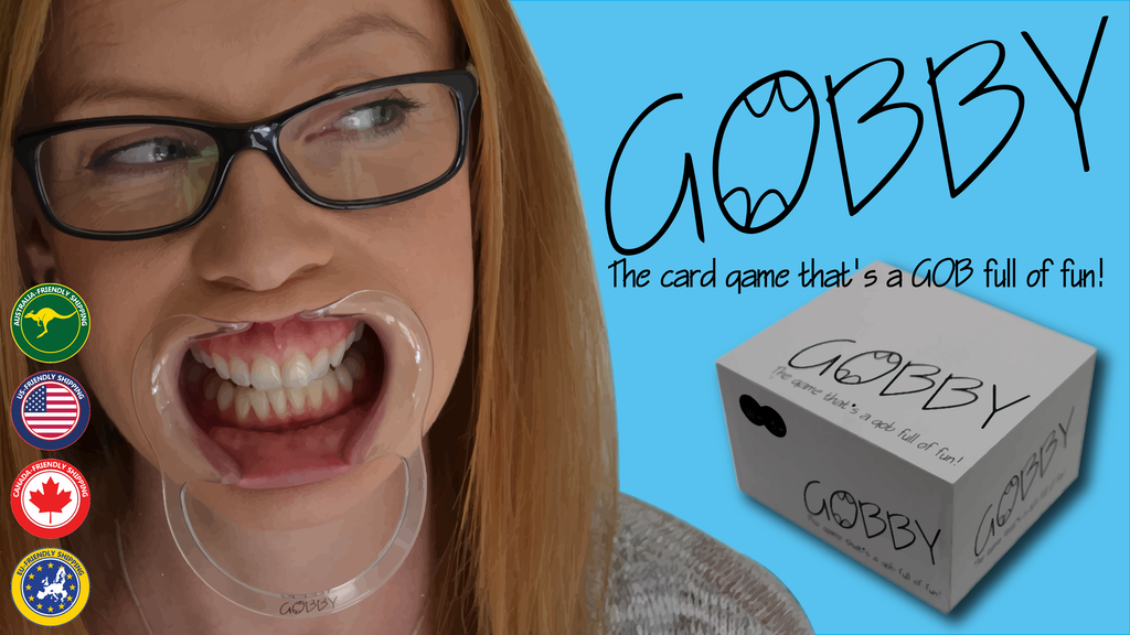 Gobby - The card game that's a GOB full of FUN! Get yours! project video thumbnail