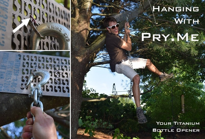 Hanging with Pry.Me: The World's Smallest Bottle Opener