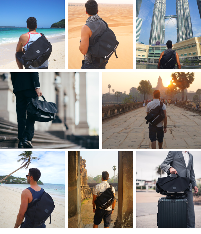We tested the 7ven Messenger for over 10 months by travelling with it