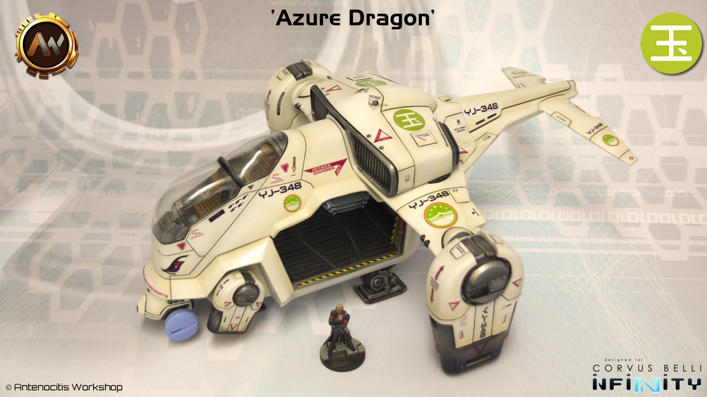 Azure Dragon & Infinity Decals project video thumbnail