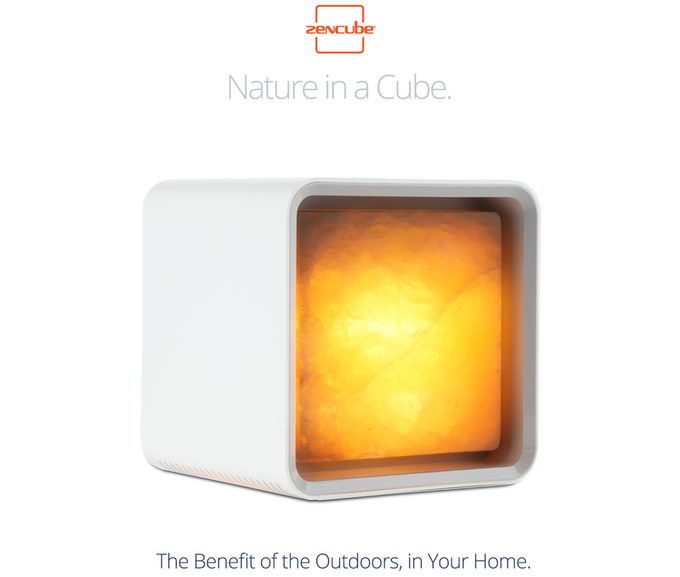 Salt Lamps Melting : Zencube is the World s First Smart Himalayan Salt Lamp.