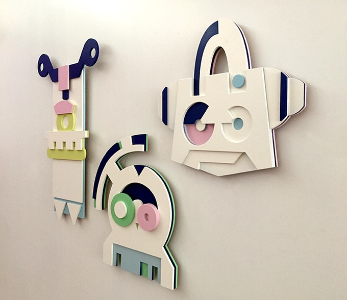 Choose 1 mask, 2 masks or get them all for your wall!