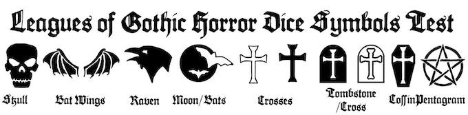 Possible Dice Symbols