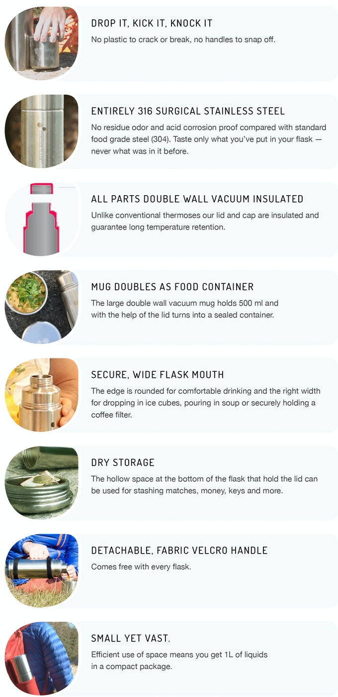 Forever Flask™ – The only vacuum flask you will ever need  by Mike